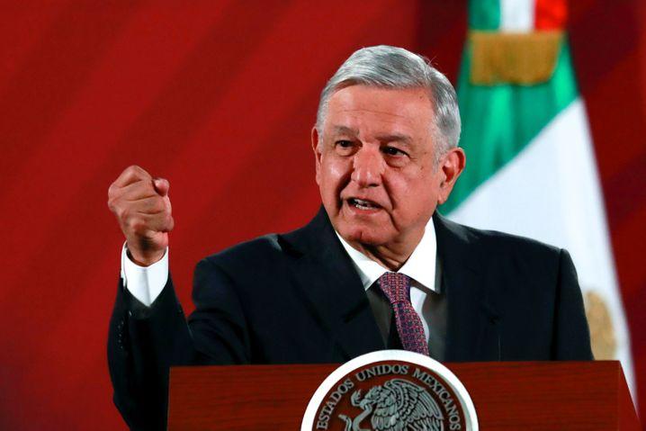 Mexikos Präsident López Obrador