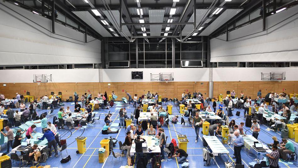 Stimmzählung in München