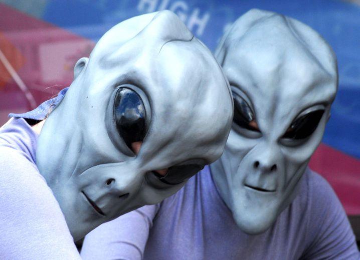 Ufo-Festival in USA (Archivbild): 100 Millionen für Suche nach Außerirdischen