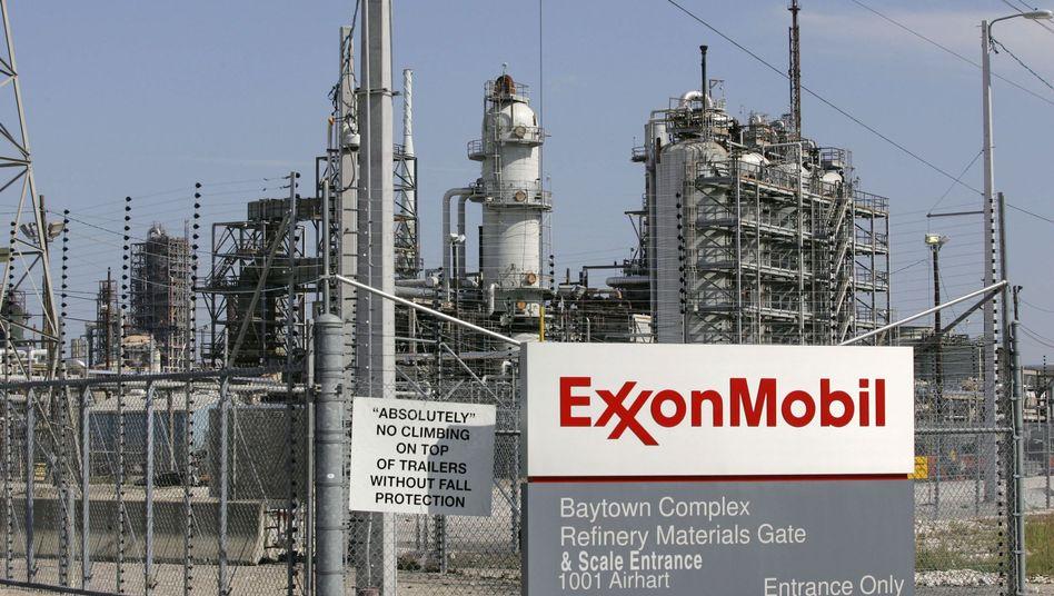 Exxon Mobil Raffinerie in Texas