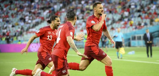 Fußball-EM 2021: Schweiz darf aufs Achtelfinale hoffen, Türkei ist raus