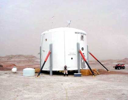 """Marsstation MDRS: """"Vorstation zum Mars"""""""