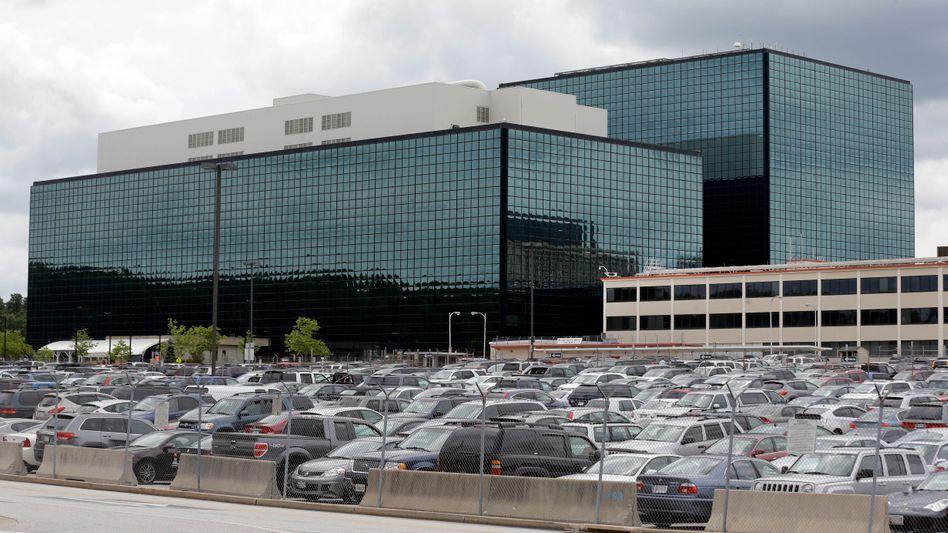 NSA-Zentrale in Fort Meade: Der US-Geheimdienst überwacht das Netz