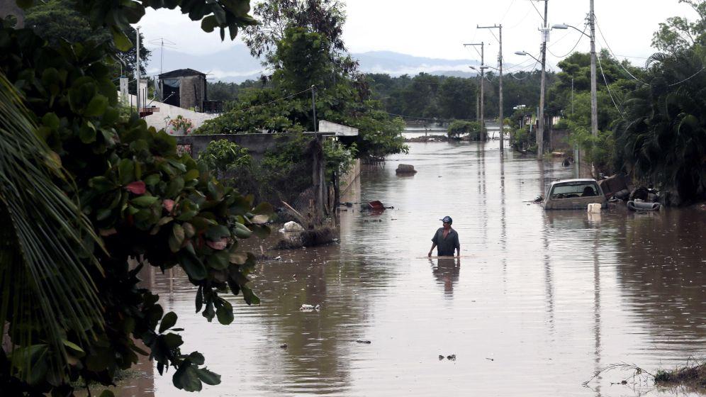 """Tropenstürme """"Manuel"""" und """"Ingrid"""": Ausnahmezustand in Mexiko"""