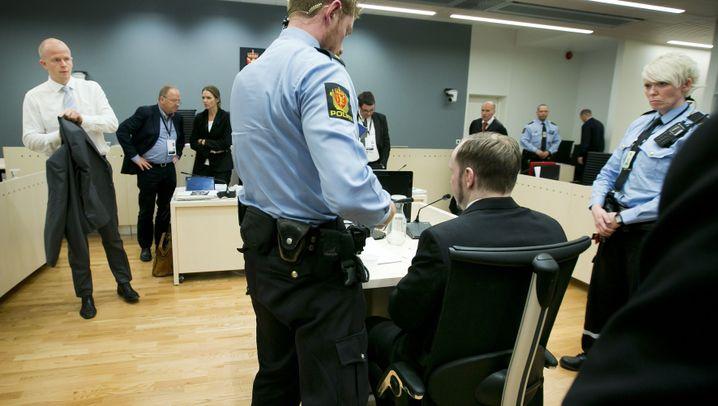 Breivik-Prozess: Tag sechs in Bildern