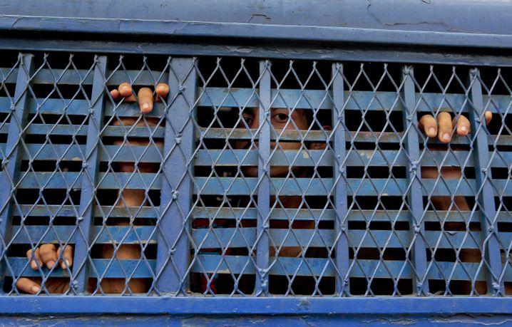 Inhaftierte in Bangladesch