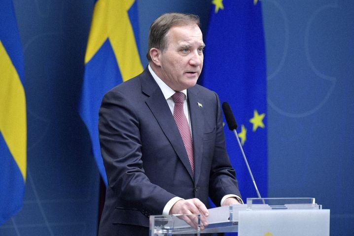Schwedens Premierminister Stefan Löfven: »In diesem Jahr muss Weihnachten anders sein«