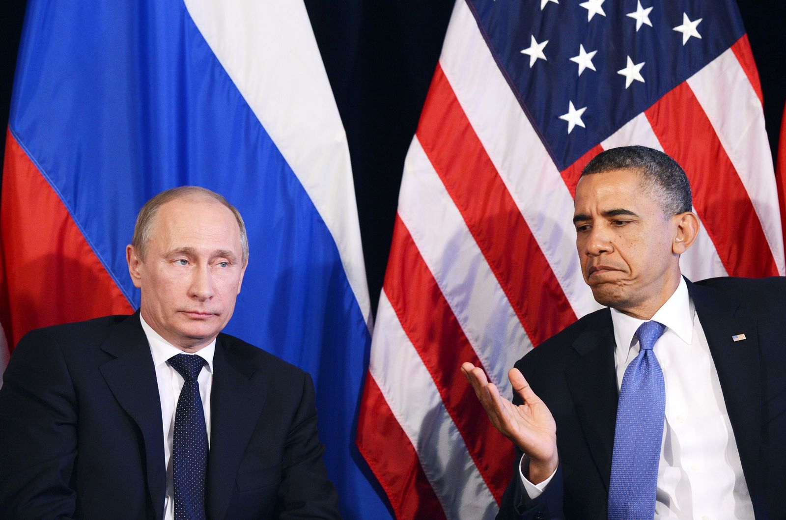 Putin/ Obama G20-Gipfel / Mexiko