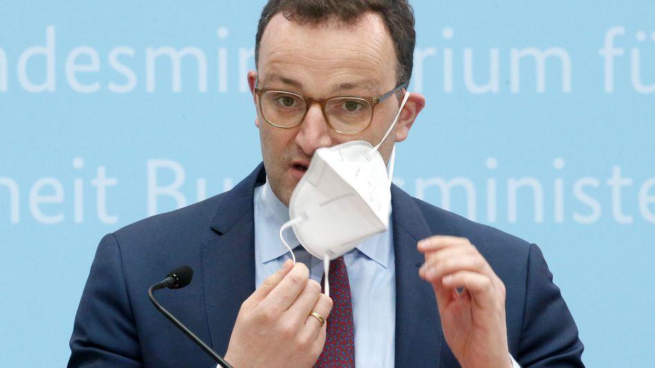 Jens Spahn: Ein Gesundheitsminister, der sein eigener Gesundbeter ist