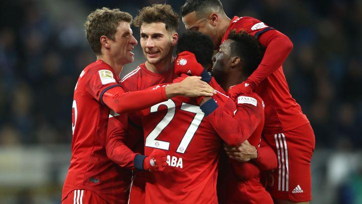 Bayern-Sieg bei Hoffenheim: Der doppelte Goretzka