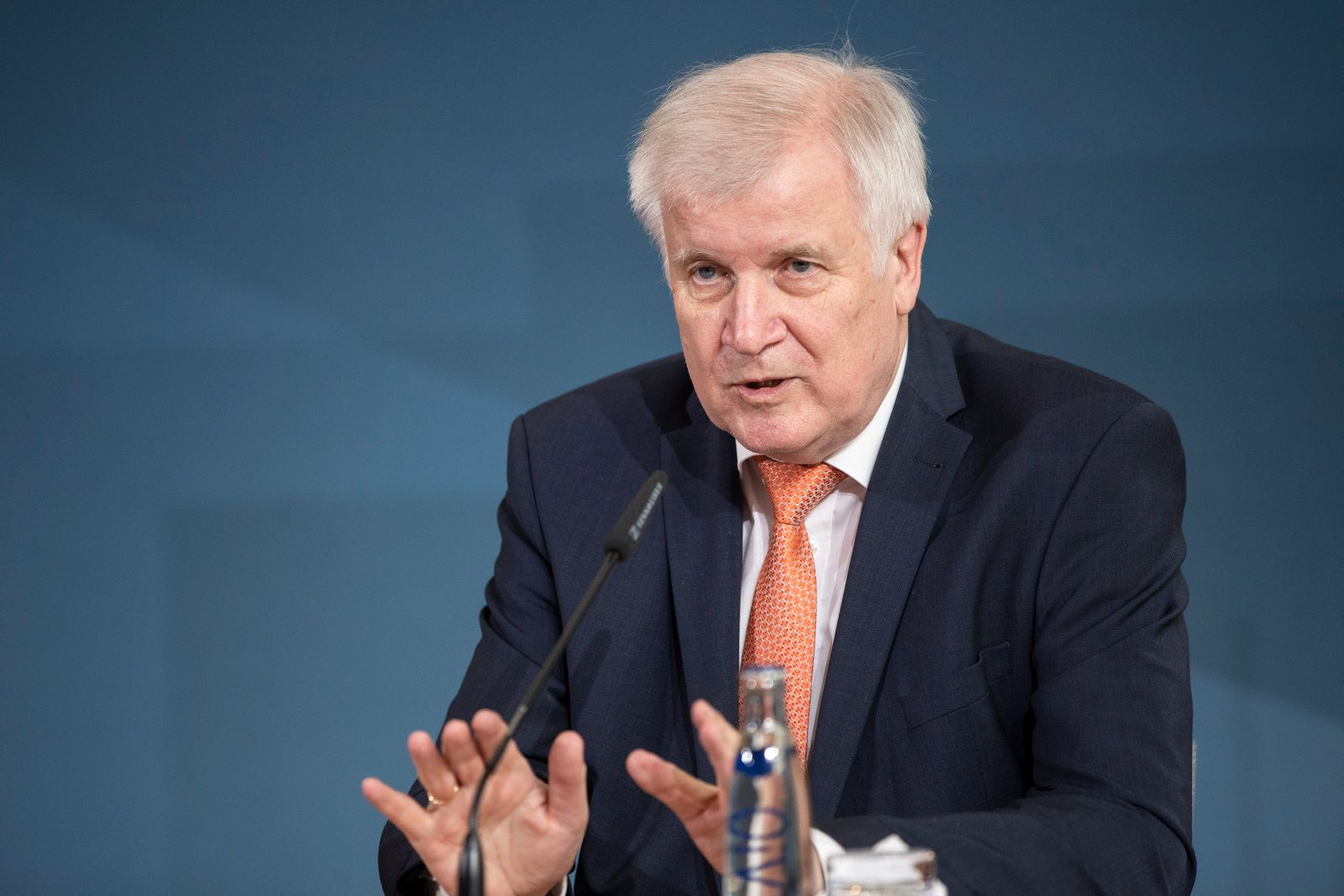 Interior Minister Seehofer Meets With EU Commissioner Schinas Over Refugee Policy