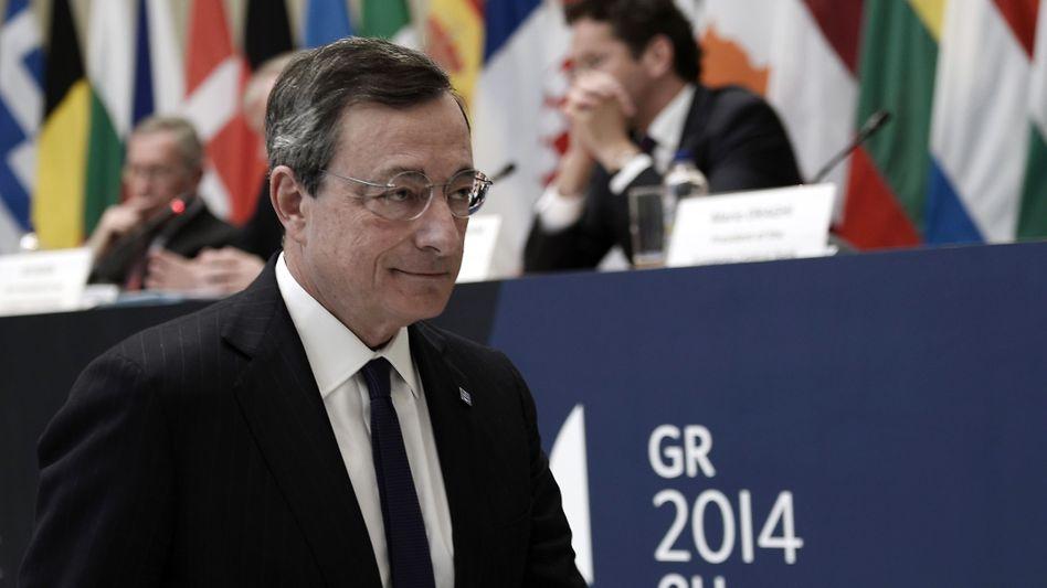 EZB-Chef Draghi: Letzte Waffe im Kampf gegen niedrige Inflation