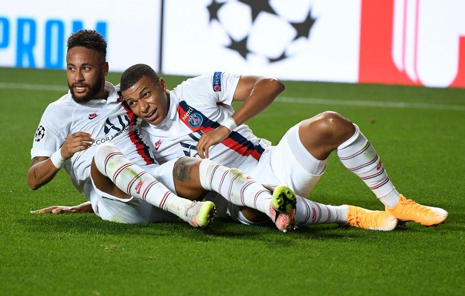 Spätes Glück für Neymar (links) und Kylian Mbappé