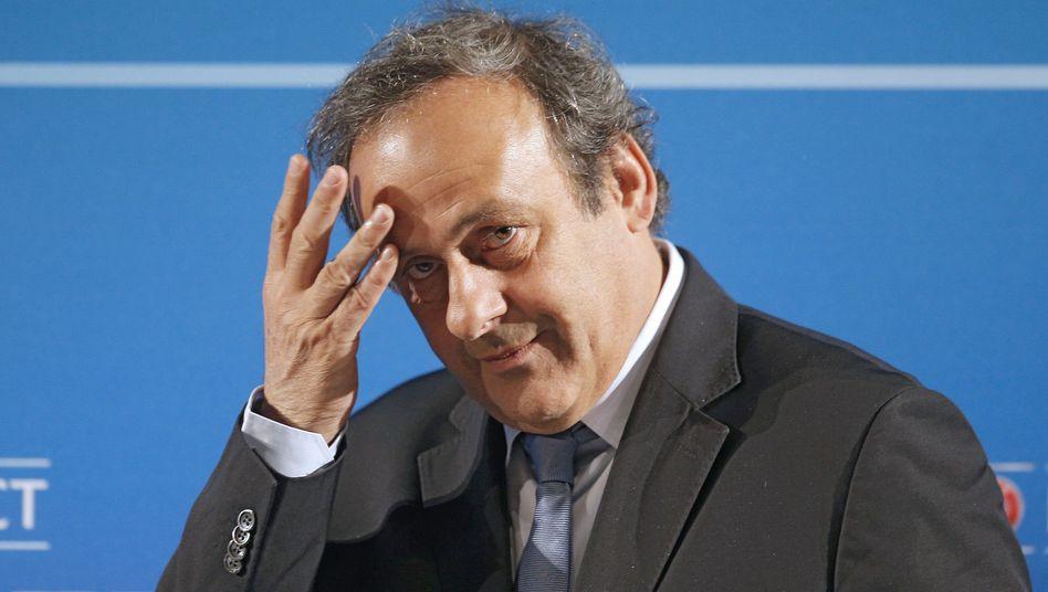 Uefa-Präsident Platini: Kein Gegenkandidat für Blatter