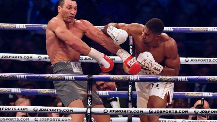 Schwergewichtsboxer: Wladimir Klitschkos Karriere in Bildern