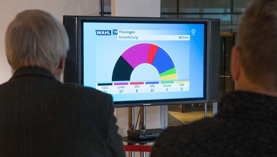 Wahlberichterstattung der ARD: Wo liegt eigentlich die Mitte?