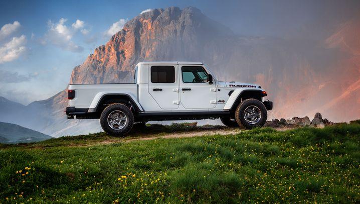 Autogramm Jeep Gladiator: Der Offroad-Laster