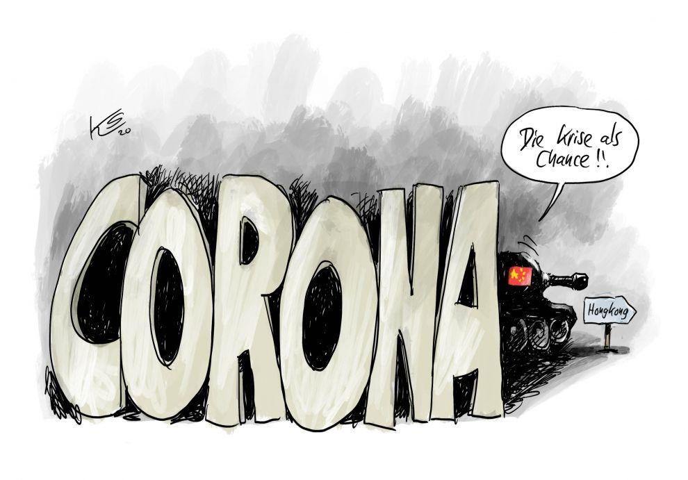 Panzer und Corona