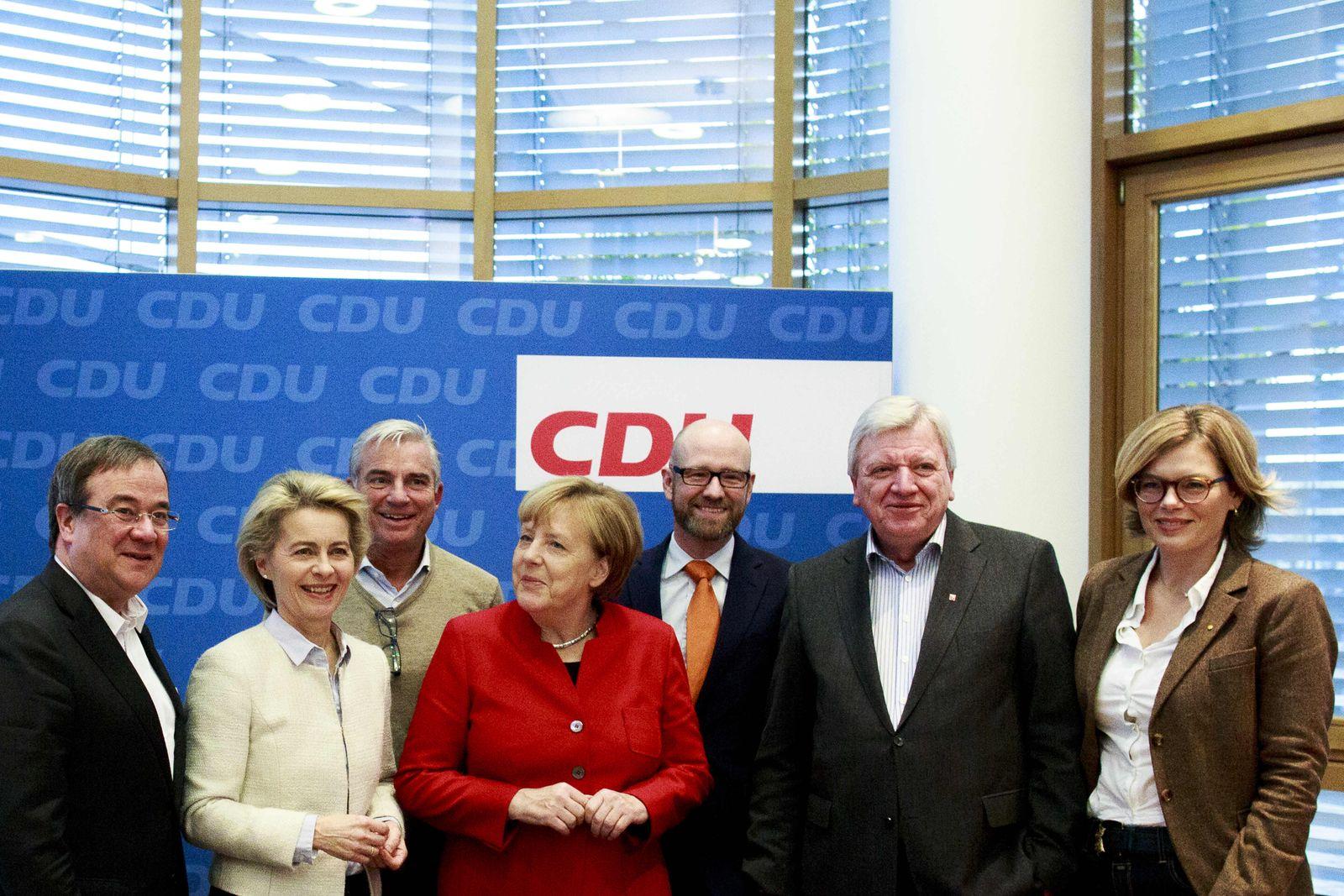 Team Merkel CDU Vorstand