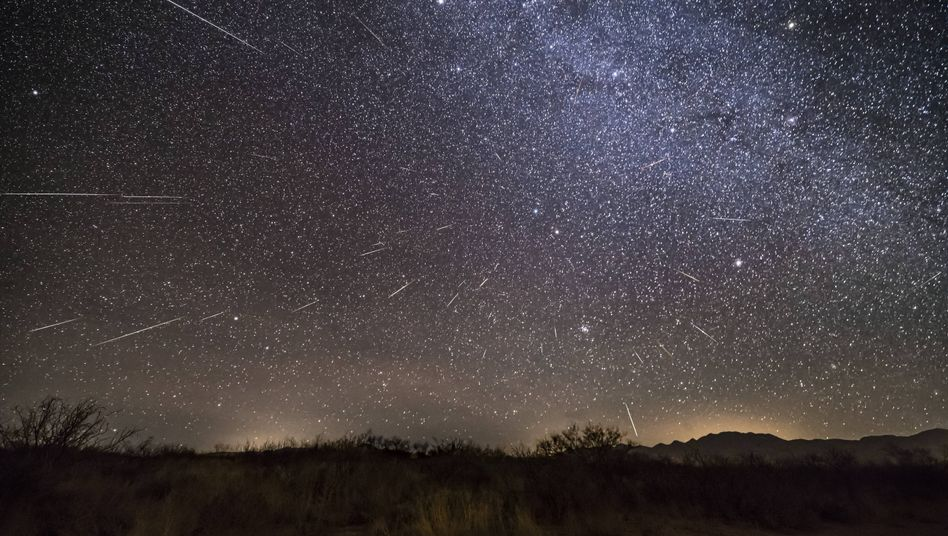 Geminiden im Jahr 2017: Grund für das Phänomen ist ein Staubring, der nun erstmals fotografiert wurde
