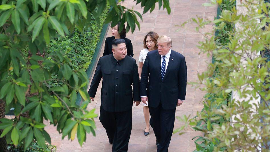 Kim Jong Un, Donald Trump: Auf bestem Weg zur Männerfreundschaft?
