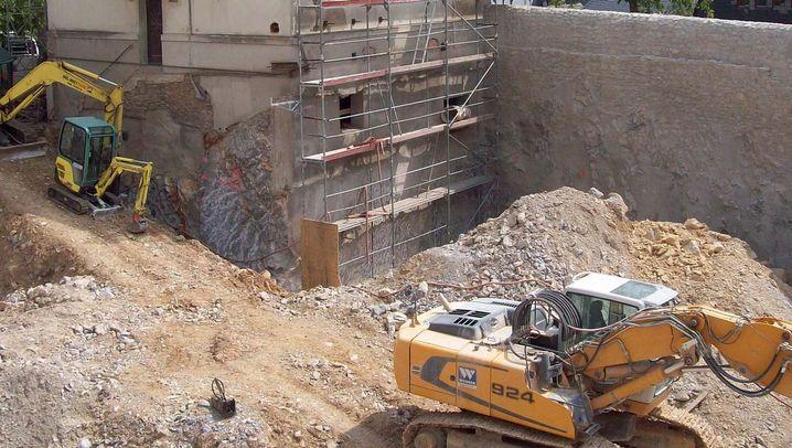 Fotos aus Limburg: Handwerker dokumentierten die Baustelle
