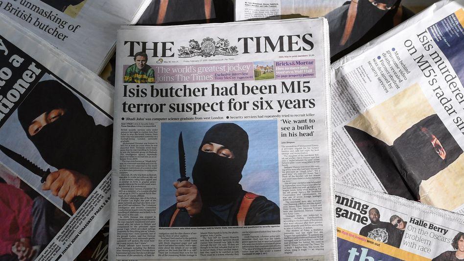 """Jihadi John"" wurde als Erster der ""Terror-Beatles"" identifiziert"