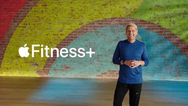 Apple-Manager bei der Präsentation des Sportangebots Fitness+