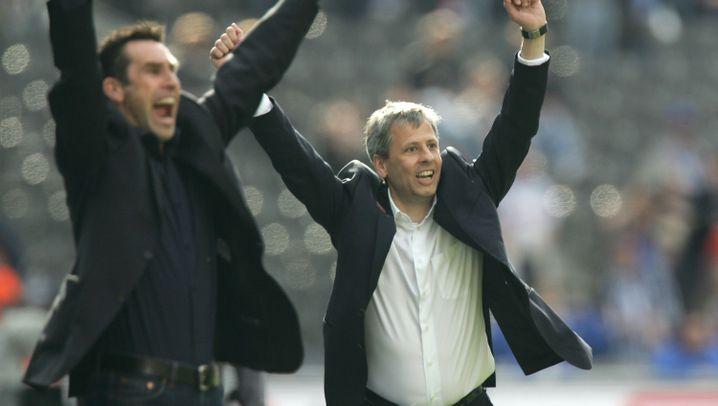 Von Favre bis Luhukay: Hertha-Trainer unter Manager Preetz