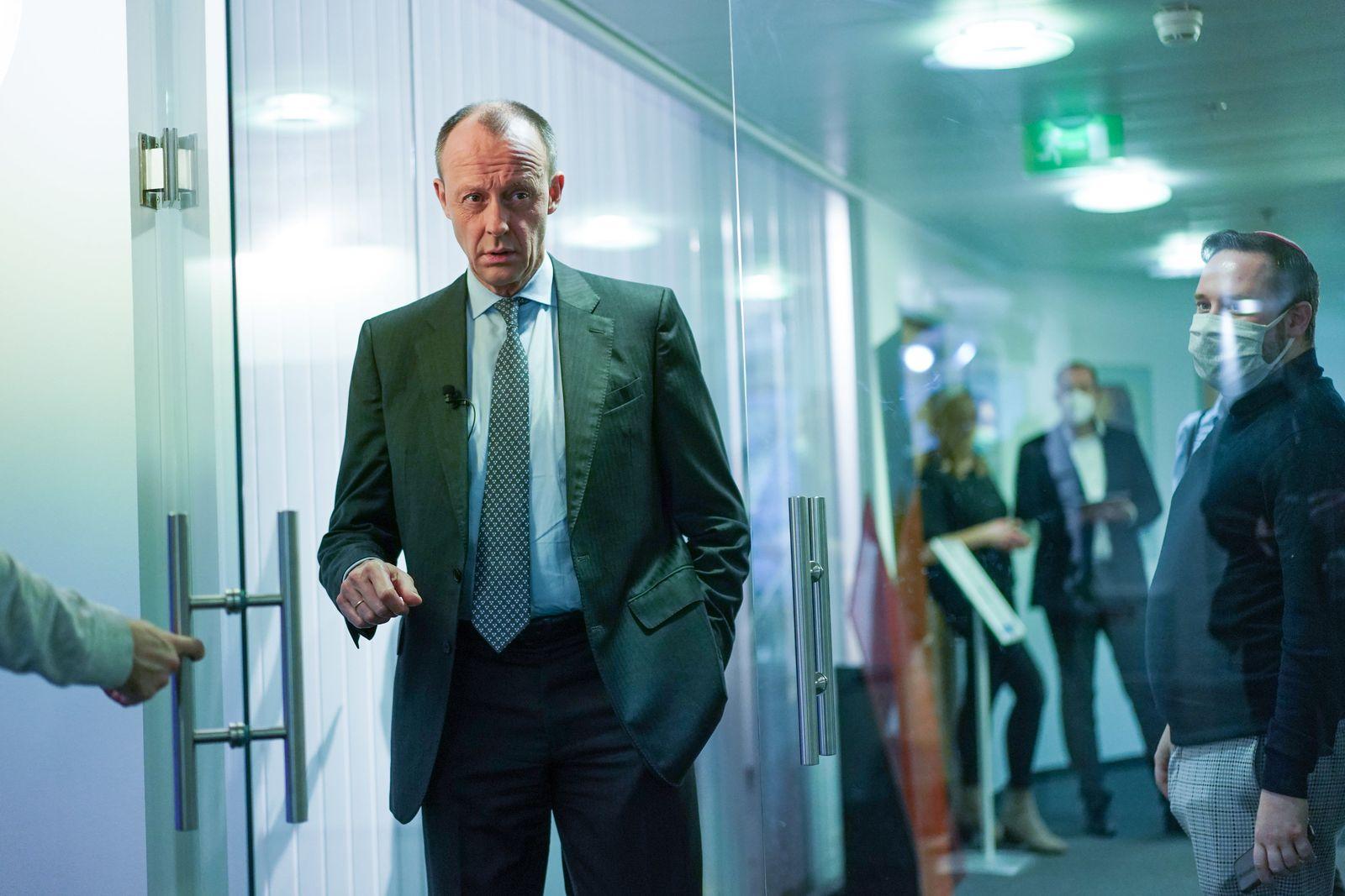 """""""CDU Live""""-Format mit Friedrich Merz"""