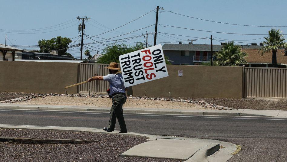 Anti-Trump-Protest in Phoenix