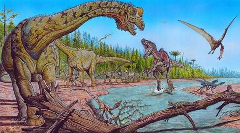 Dinosaurs may have been around longer than first thought.