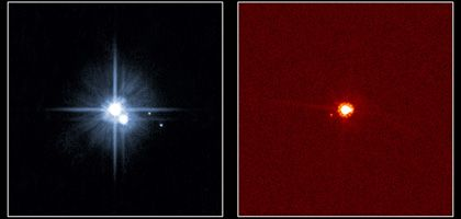 Pluto (l) und Eris (r): Die zwei frisch ernannten Plutoiden