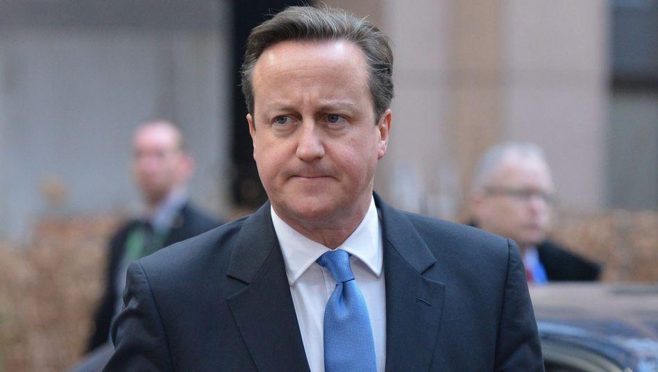 """Premier Cameron (in Brüssel): """"Gewichtsprobleme, die man angehen könnte"""""""