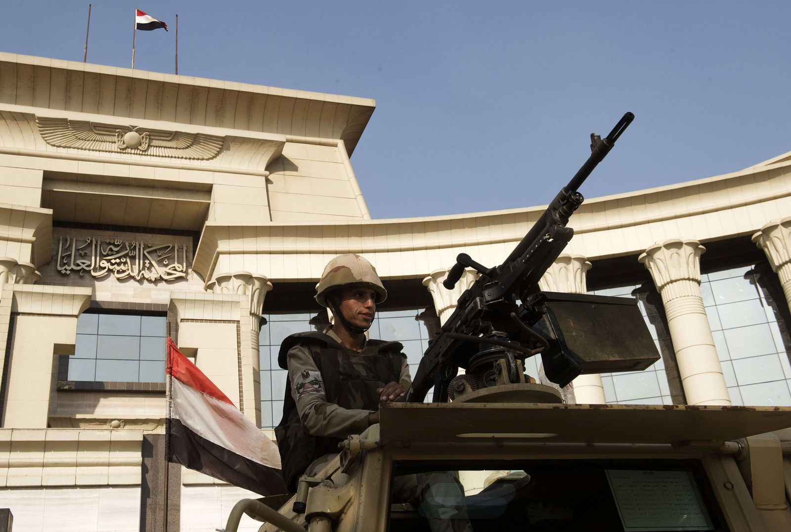 Ägypten Soldat