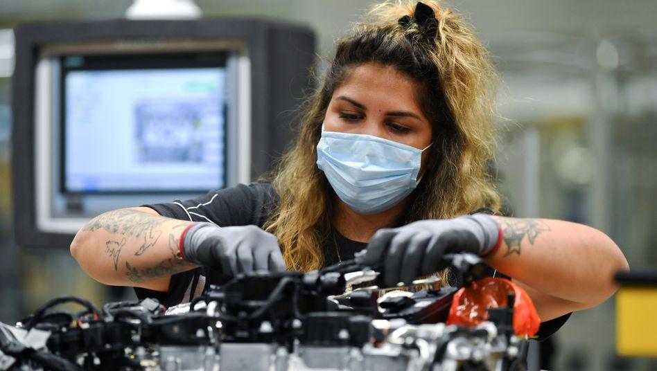 Metallindustrie: Die Branche ist von Kurzarbeit stark betroffen
