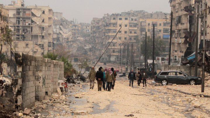 Syrien: Letzte Fahrt aus Aleppo