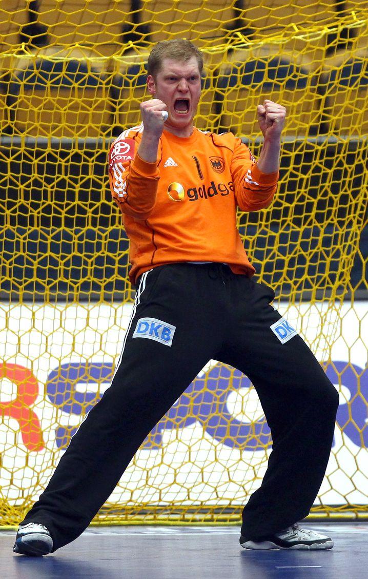 Schon damals im Tor der deutschen Handballer: Johannes Bitter im Jahr 2011
