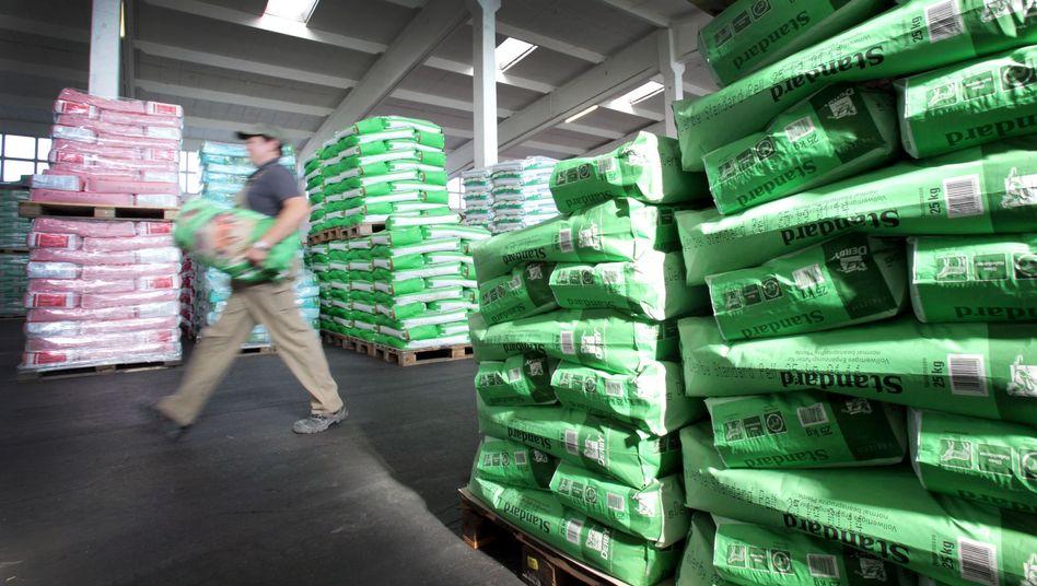 Agravis-Lagerhalle: Der Agrarhändler akzeptierte eine Geldbuße in Höhe von fast 44 Millionen Euro