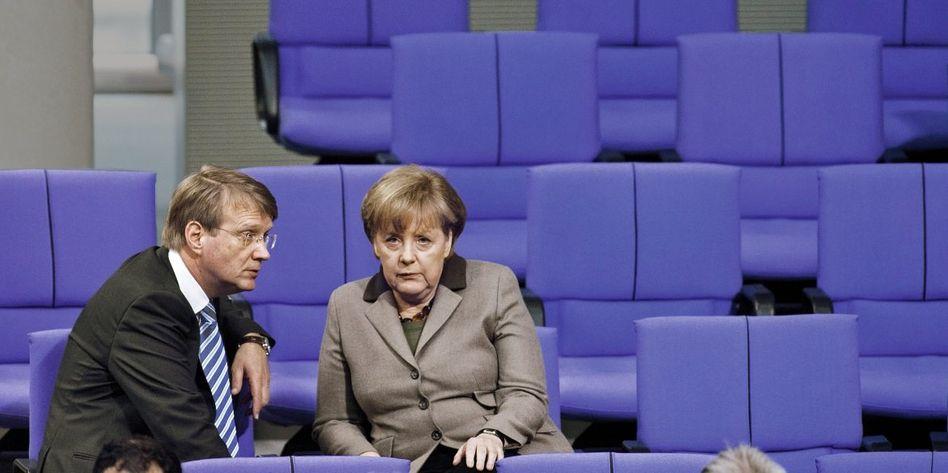 Amtschef Pofalla, Kanzlerin Merkel: Er ließ sich nie dazu hinreißen, schlecht über die Chefin zu reden