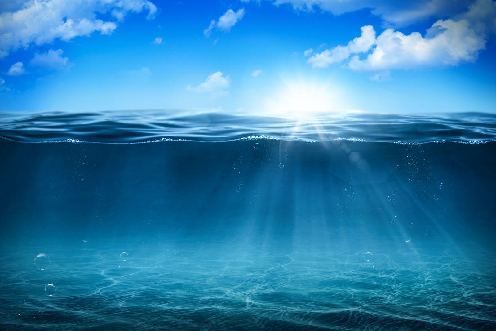 EINMALIGE VERWENDUNG Meeresspiegel