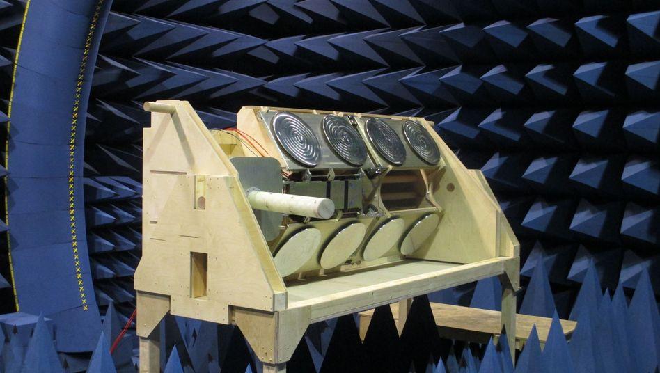 Vermessung der Icarus-Antennenanlage