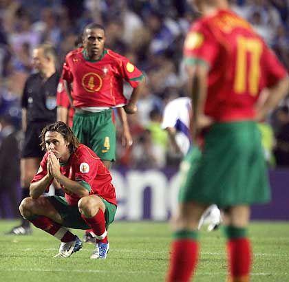 """Enttäuschte Portugiesen: """"Griechenland hat verdient gewonnen"""""""