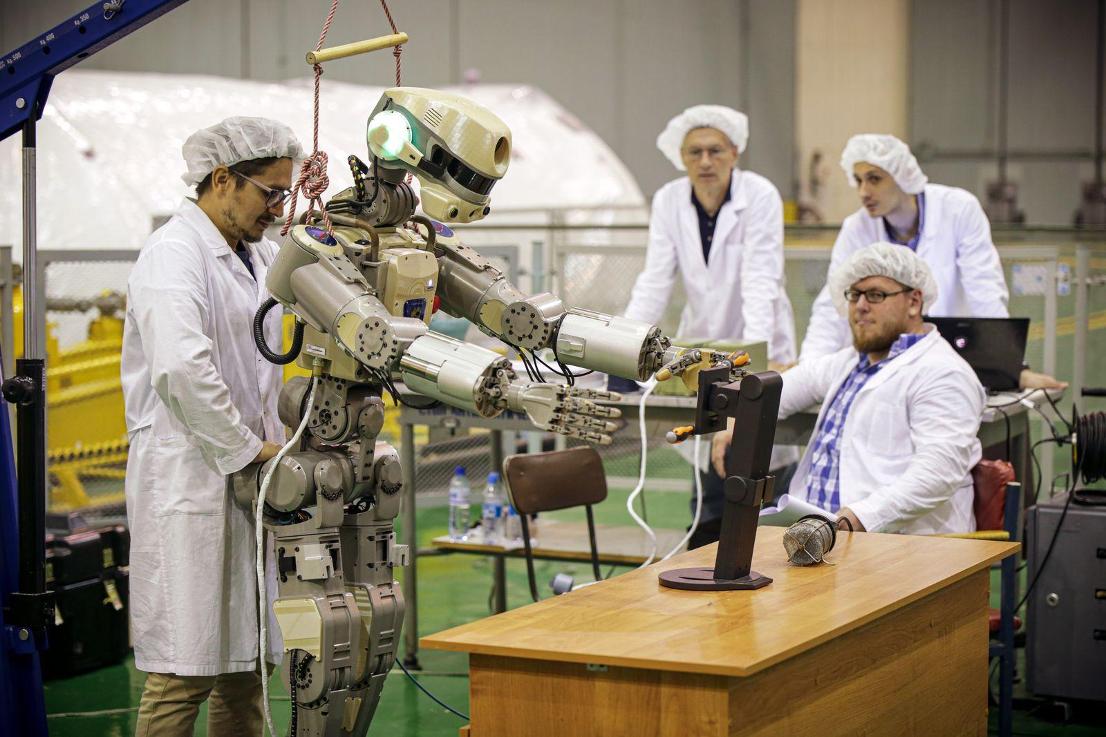 Roboter/ Skybot F850