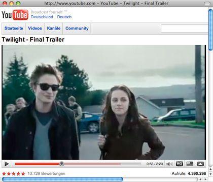 "Weltweiter Erfolg: Die Vampir-Roman-Verfilmung ""Twilight"""