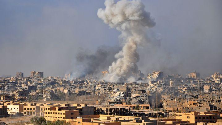 Syriengipfel: Vier Politiker, vier Ziele