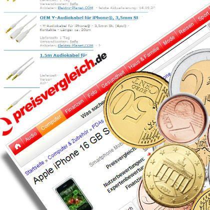 Preisvergleichsseiten: Automatisch sparen?
