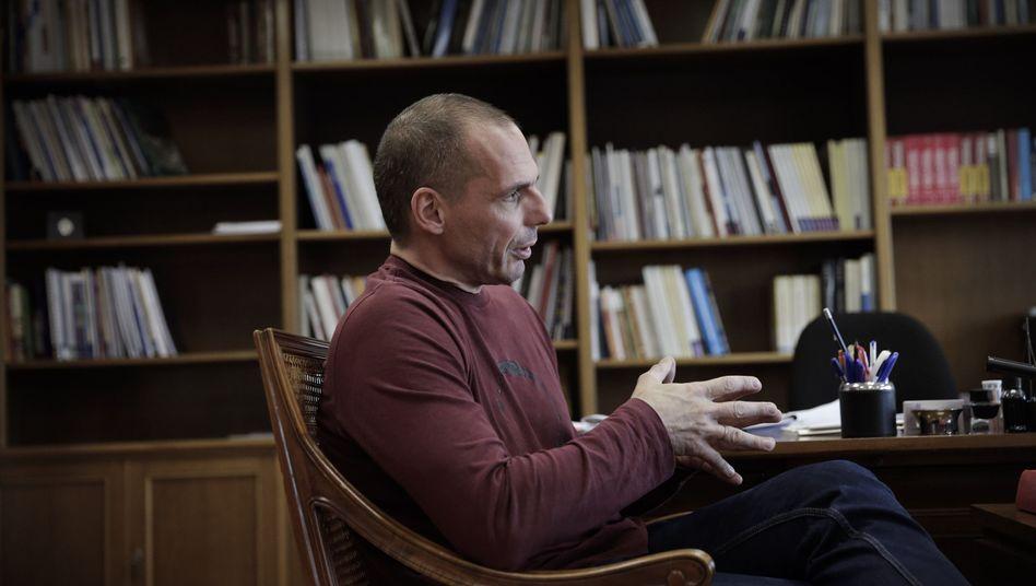 Finanzminister Varoufakis (Archivbild): Er kann auch heimelig