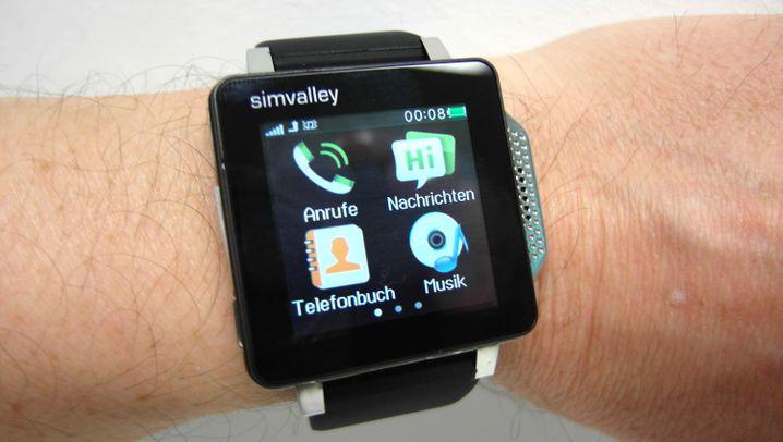 Simvalley PW-315 touch: Diese Uhr ist ein Handy
