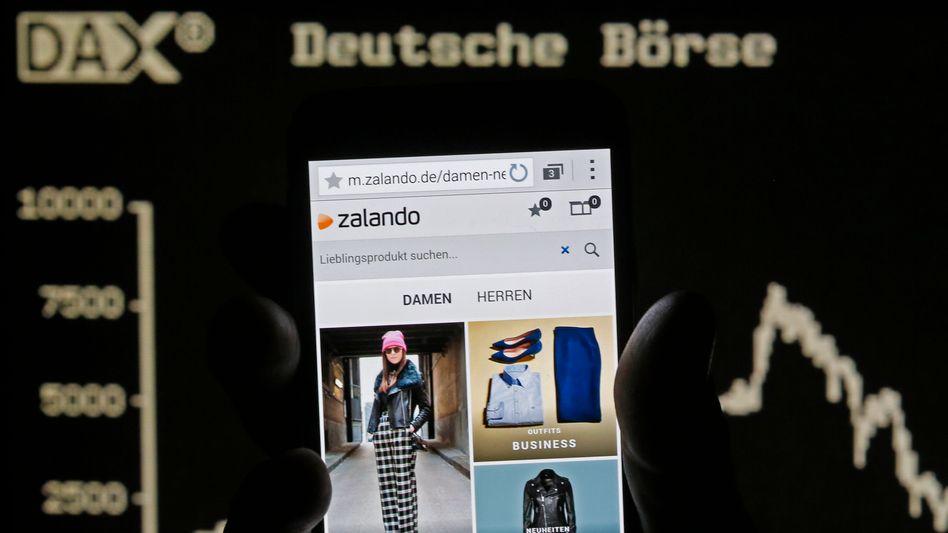 Zalando: Innerhalb von fünf Handelstagen gut 20 Prozent verloren